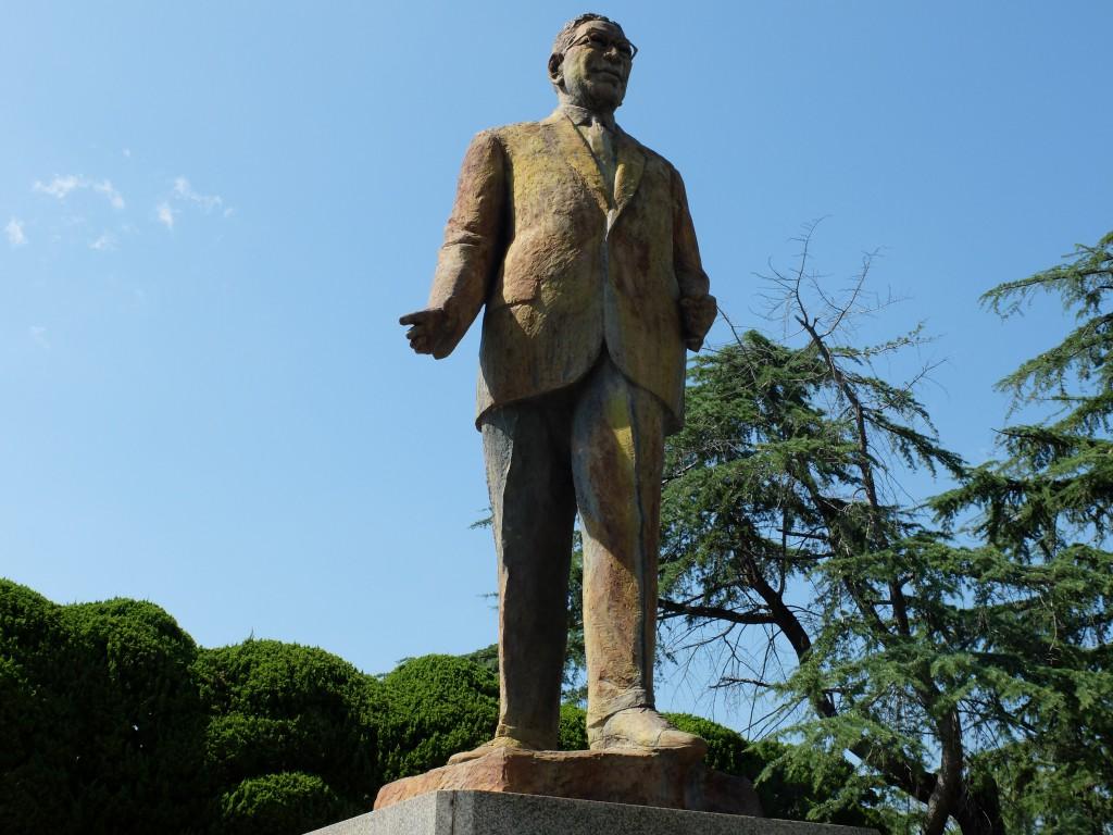池田隼人の銅像