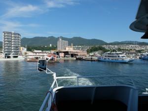 宮島への航海