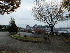 鞆城山公園からの景色1