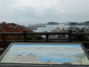 鞆城山公園からの景色2
