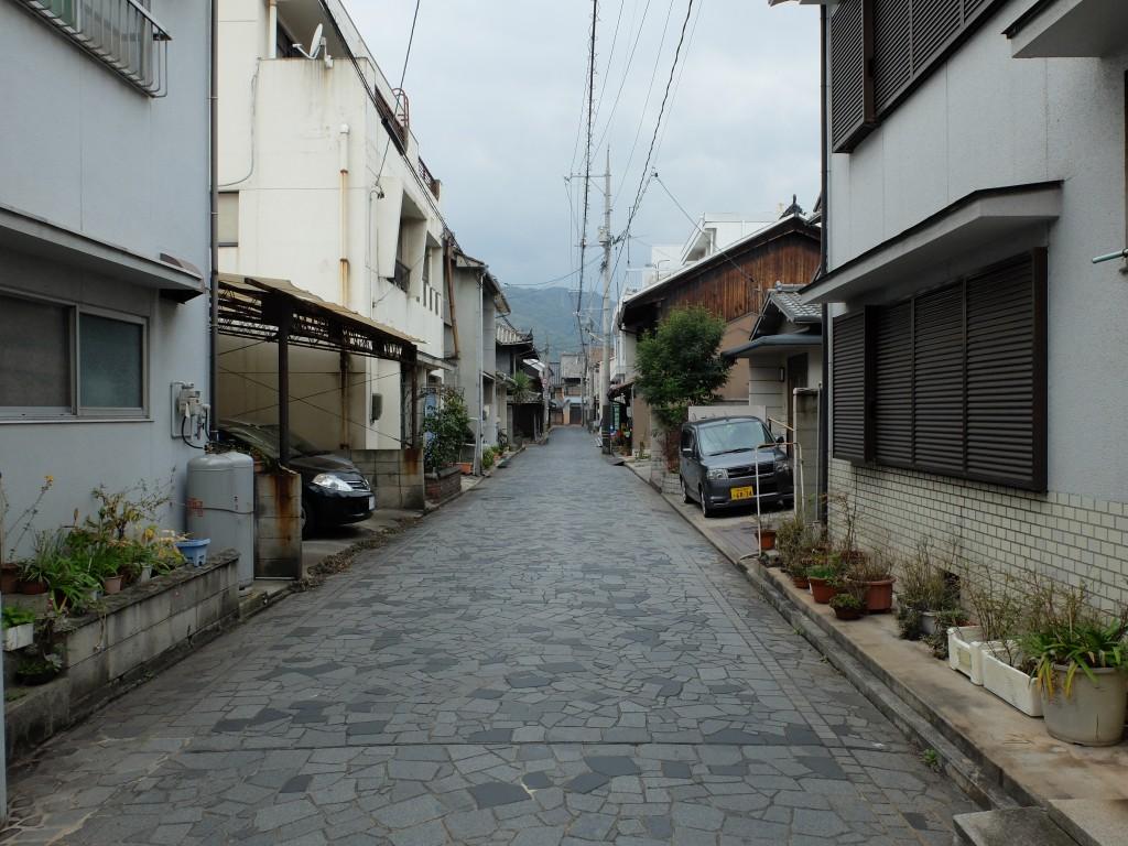 鞆の浦関町の街並み2