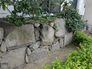 鞆城の石垣
