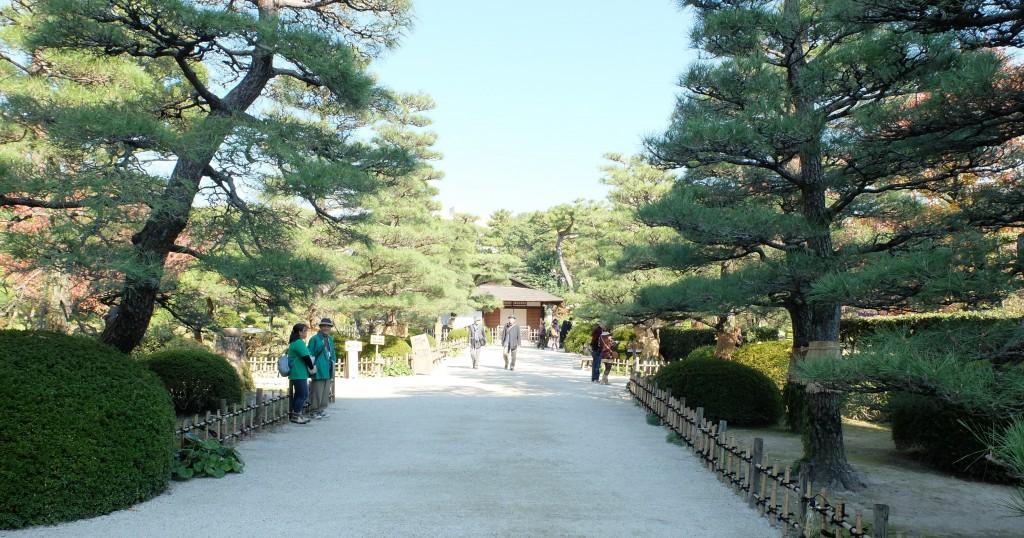 縮景園(入口付近)