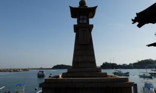 鞆の浦の常夜灯