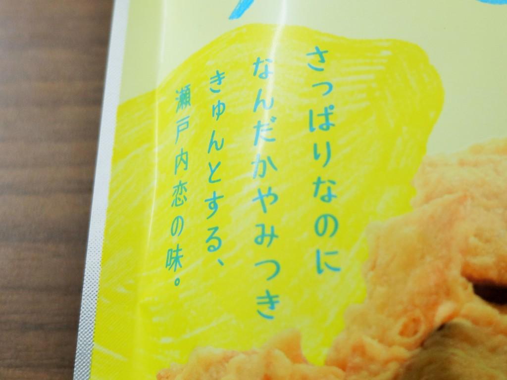 イカ天。瀬戸内レモン味コピー