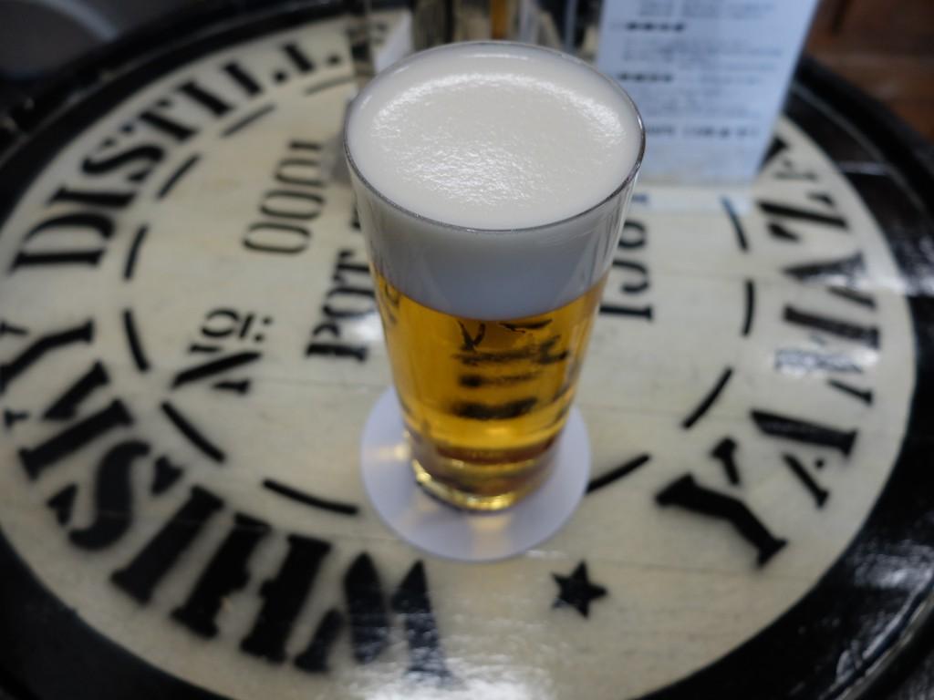 重富さんのビール