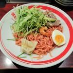 赤い呉冷麺