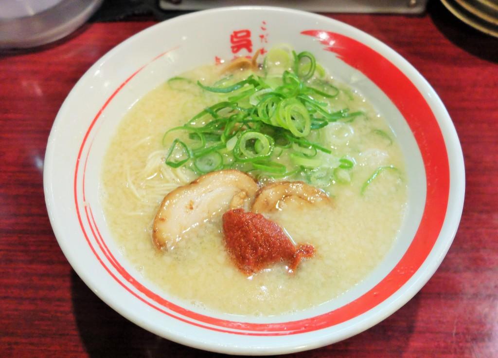 呉麺屋ラーメン「赤玉」