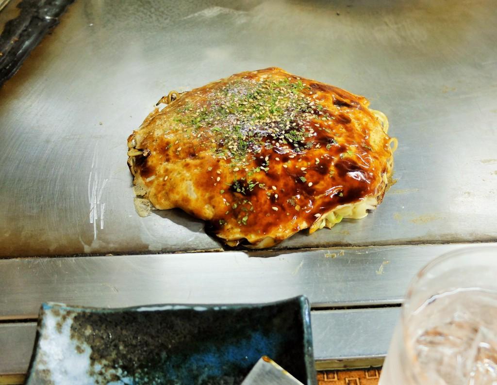「ちづ」のお好み焼き