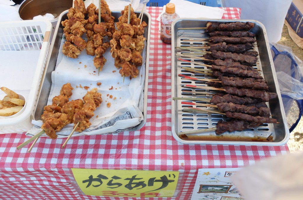 神石牛串焼きの写真