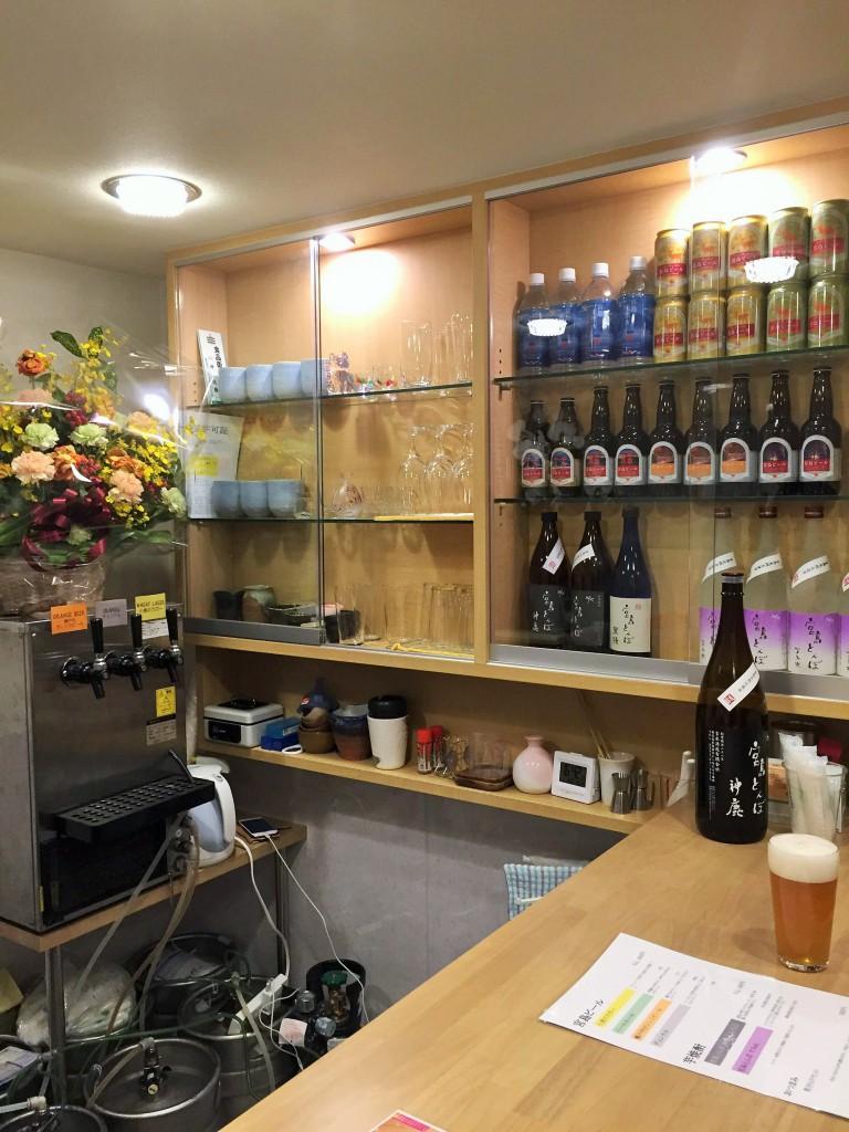 宮島ビールスプラウト店内風景